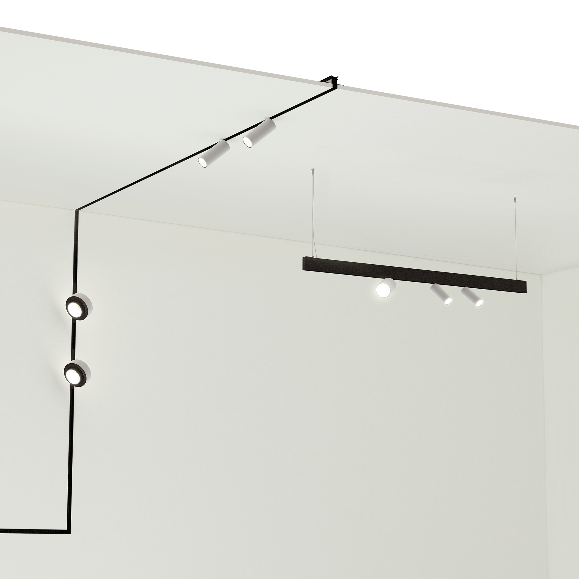 Tracking Magnet Track Lighting Fixtures Flos Architectural