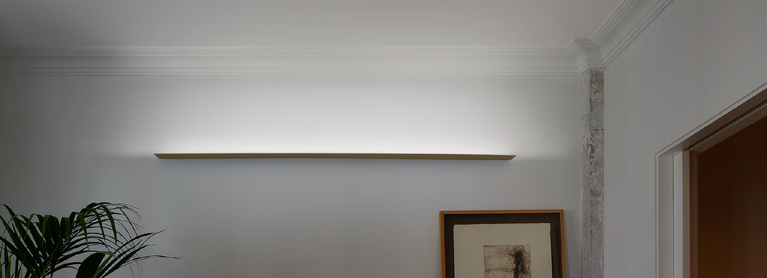 Thin LED Commercial Wall & Ceiling Lights
