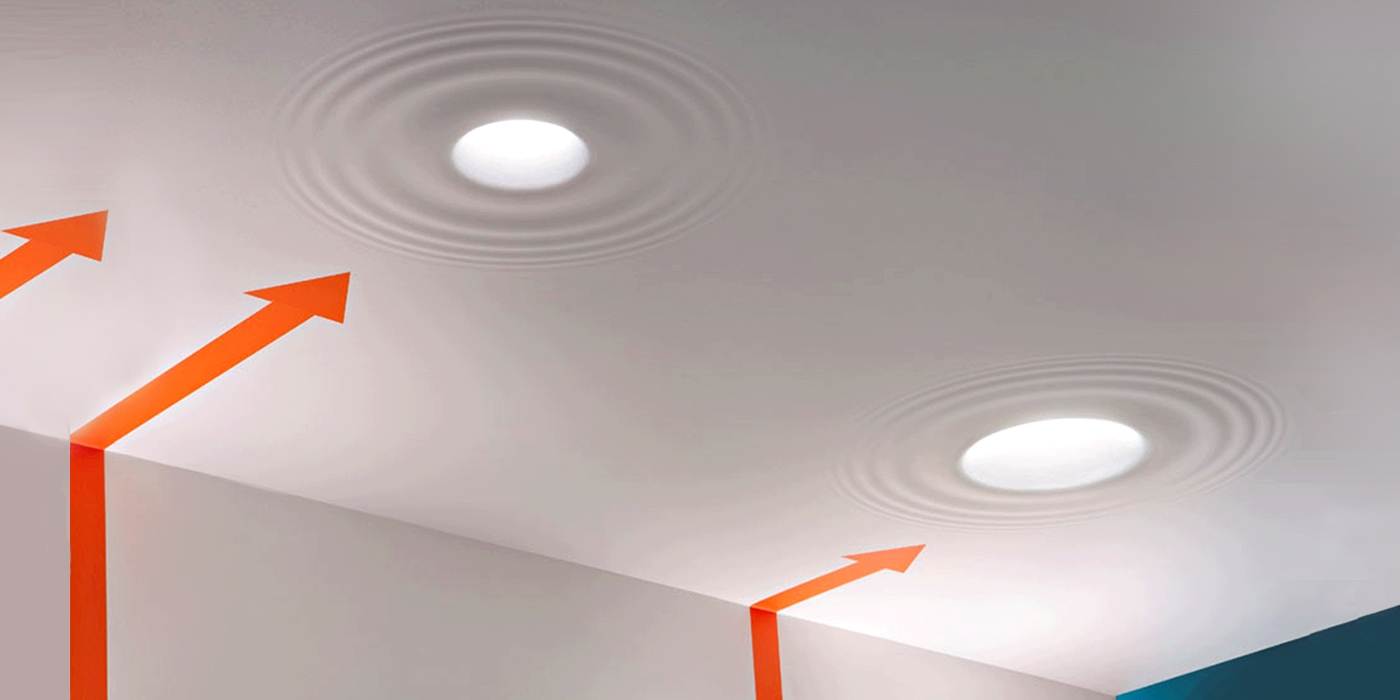 Teardrop Integrated Architectural Ceiling Light