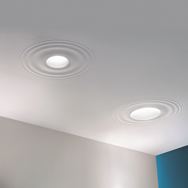 Teardrop Lights Integrated Ceiling Lights Flos